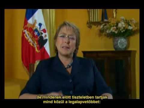 Michelle Bachele, Chile elnöke Világ Körüli Menet
