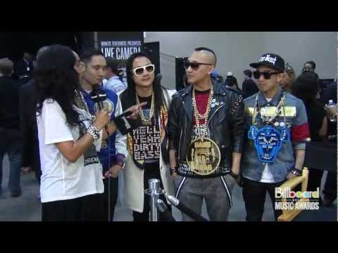 Far East Movement Backstage @ Billboard Music Awards 2012