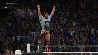 WWE 2k15 Next Gen HD Gameplay Daniel Bryan Vs Bray Wyatt