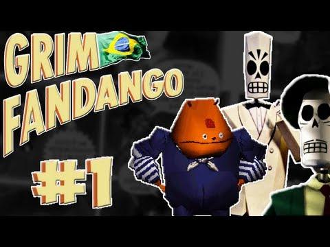 Grim Fandango #1 - Gordin dirigiu pra nozes