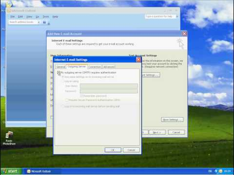 How to Setup Pop Email Using Microsoft Outlook 2007