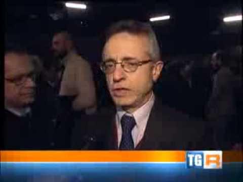 Intervista al TG3 Veneto all'inaugurazione della Fiera Agricola di Bovolone (VR)