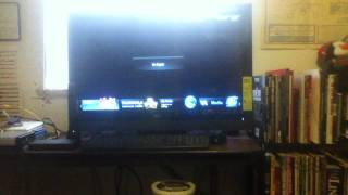 "Demo Of Some Of The Apps On My Vizio 32"" 3D WIFI TV"