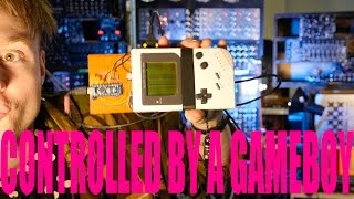 GAMEBOY TO SEQUENCE SYNTHS WITH MIDI ARDUINOBOY video