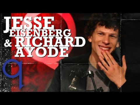 "Richard Ayoade & Jesse Eisenberg on ""The Double"""