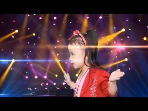 Con Bướm Xuân - Bé 4 tuổi hát đáng yêu cực - hot hot