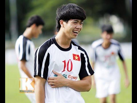 Công Phượng U19 Viet Nam - Những pha đi bóng và làm bàn tuyệt đỉnh