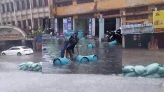 Những hình ảnh gây sốc với cơn bão số 2 Dianmu vào Việt Nam