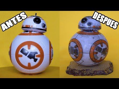 Hasbro Star Wars BB8 Customización en Español