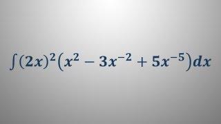 Nedoločeni integral 9