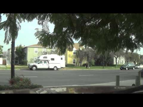 Time Lapse Traffic on Buena Vista in Burbank, CA