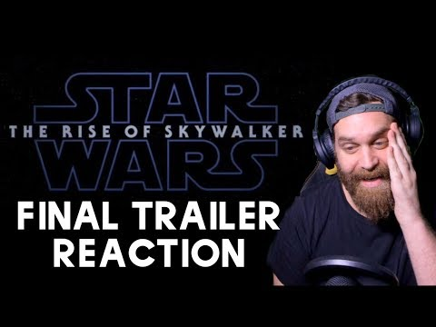 Star Wars: The Rise of Skywalker | Final Trailer REACTION!!