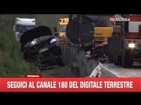 INCIDENTE 2 BARESI PERDONO LA VITA IN BASILICATA