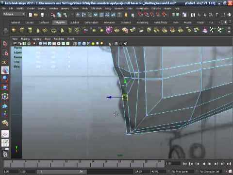 Maya 2011-Human Head Modeling-06