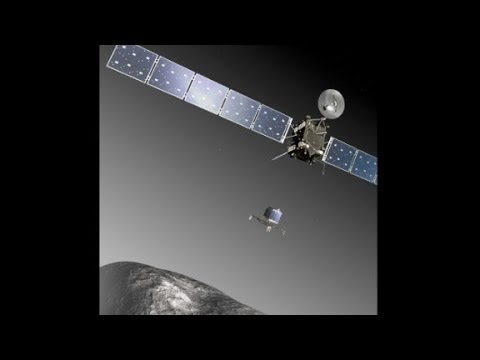 Spacecraft wakes up to land on a comet