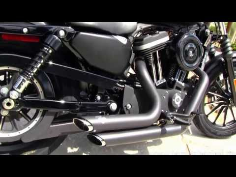 New 2013 Harley-Davidson XL883N Sportster Iron 883 with Vance & Hines Exhaust