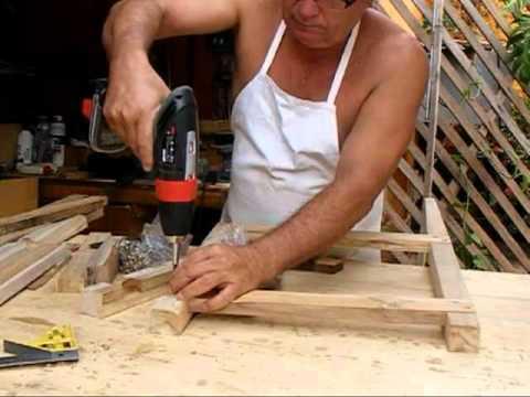 Marcenaria  XV - Bancos de Jardins em madeira teka