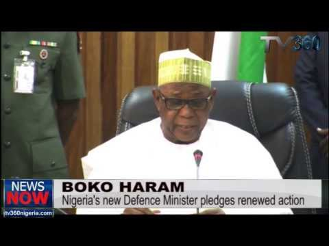 Boko Haram: Nigeria's new Defence Minister says he will make country safer