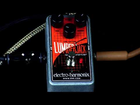 Electro Harmonix Lumberjack Log Overdrive Effects Pedal for Guitar