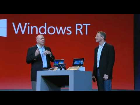 Microsoft CEO Steve Ballmer at CES 2013