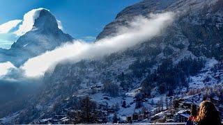 مناظر تحبس الأنفاس خلال تجربة تسلق جبال ماترهورن السويسرية