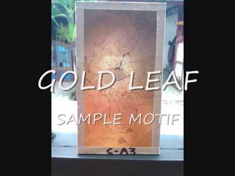 GOLD LEAF INDONESIA sample motif