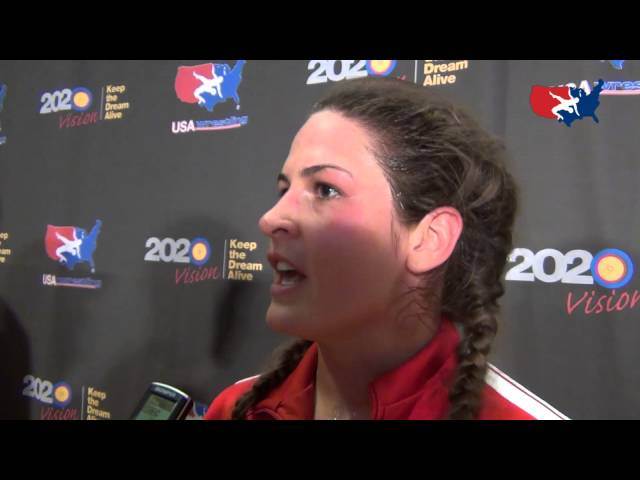 Adeline Gray wins World Team Trials
