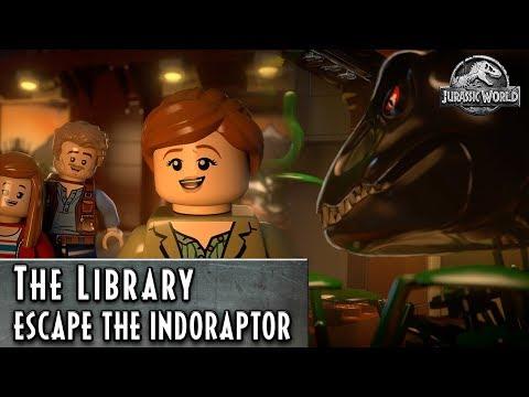 Lego Jurassic World - Knižnice