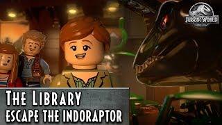Lego Jurassic World - Knižnica