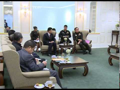 Chinese Business delegations pay a courtesy call on Gen. Prayuth Chan-Ocha