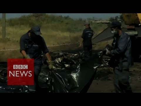 BBC reporter given Ukraine crash victim's wallet