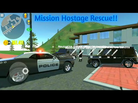 Car Simulator 2 - Police Mission Hostage Rescue - Car Games Android Gameplay