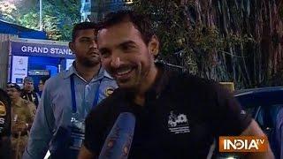John Abraham, Mumbai Marathon, bollywood latest movies