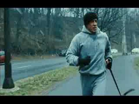 Rocky Balboa 6 Training scene