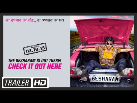 Besharam Film Official Trailer | Ranbir Kapoor,Pallavi Sharda | HD