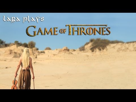 Lara plays the 'Game of Thrones' Main Theme