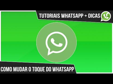 Como mudar o toque do whatsapp atualizado [2014/2015]