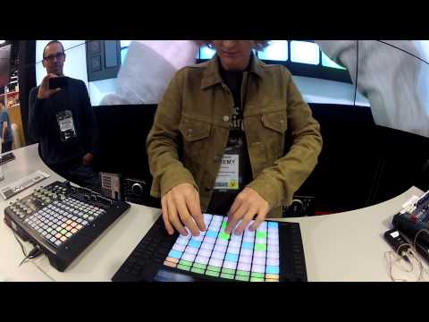 Jeremy Ellis on Ableton Push at NAMM 2013