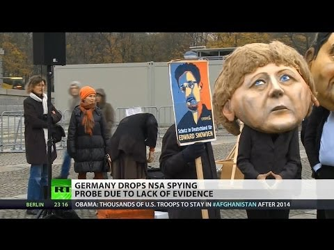 Germany dropping NSA inquiry