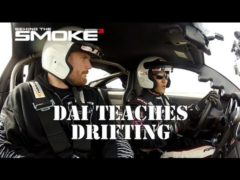 UFC 164 Winner Josh Barnett Learns To Drift - Behind The Smoke 3 - Ep2