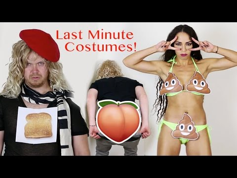 Quick And Easy Last Minute Halloween Costumes For Adults