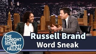 Russell Brand's Quick Wit Makes a Mockery of a Simple Word Game