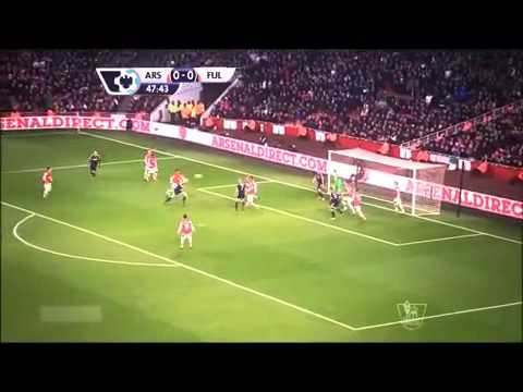 Arsenal vs Fulham 2014 2-0 All Goals & Full Highlights 18 1 2014 HD