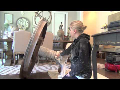 Annie Sloan Chalk Paint Tutorial The Weathered Wood Look