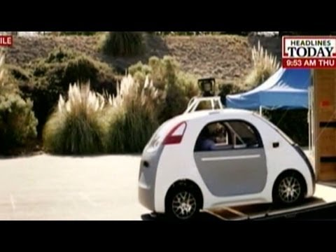 Google's self driving car need no human monitoring