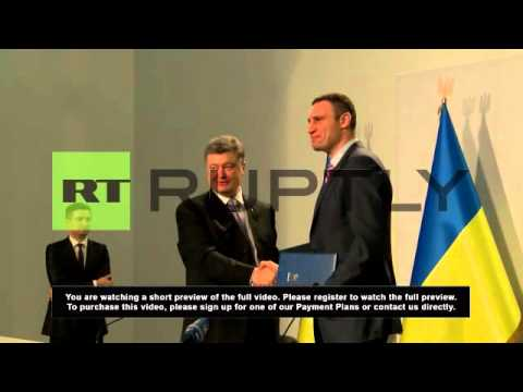 "Ukraine: Poroshenko wants ""open door"" with EU"