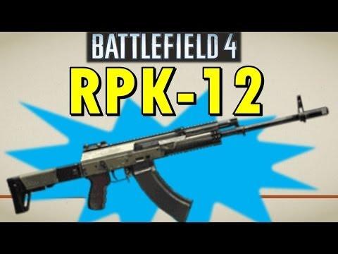 Battlefield 4 M60 Ult Explosive Light Machine Gun