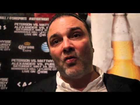 RICHARD SCHAEFER TALKS, KHAN, ALEXANDER, MATTHYSSE & MAYWEATHER / POST SHOW INTERVIEW