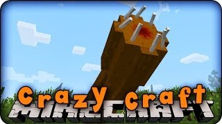 Minecraft Mods CRAZY CRAFT Ep # 9 'KILLING THE GIANT