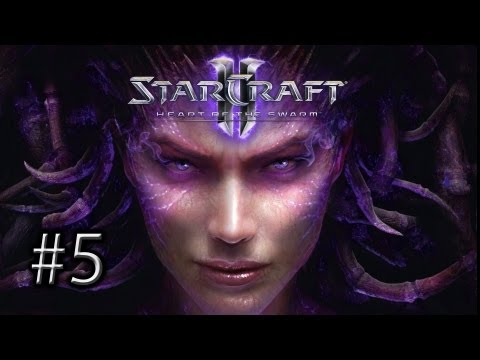 StarCraft 2 Heart of the Swarm: Mission 5
